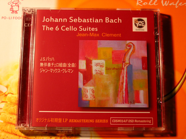 clement的巴赫大提琴无伴奏组曲 音乐唱片 极品人生